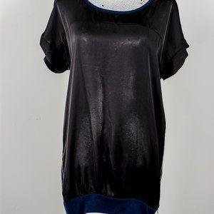 NWOT Anna Scott detail short sleeve top - L